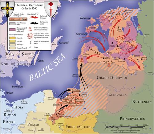 Ситуация времен битвы при Дурбе