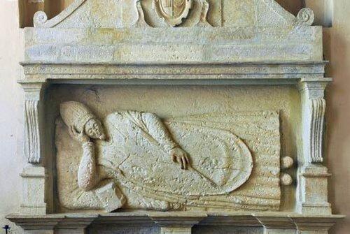 Надгробие епископа И.П. Нидецки