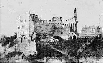 Замок в 1860 г.