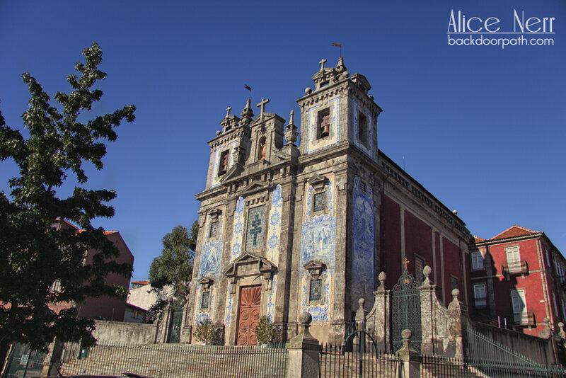 церковь Santo Ildefonso church, Porto