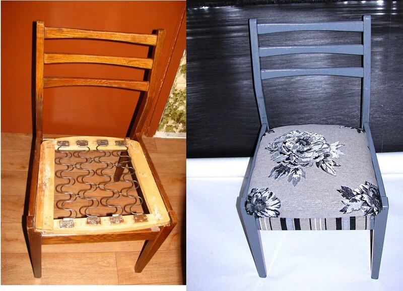 Реставрация стульев своими руками до и после фото