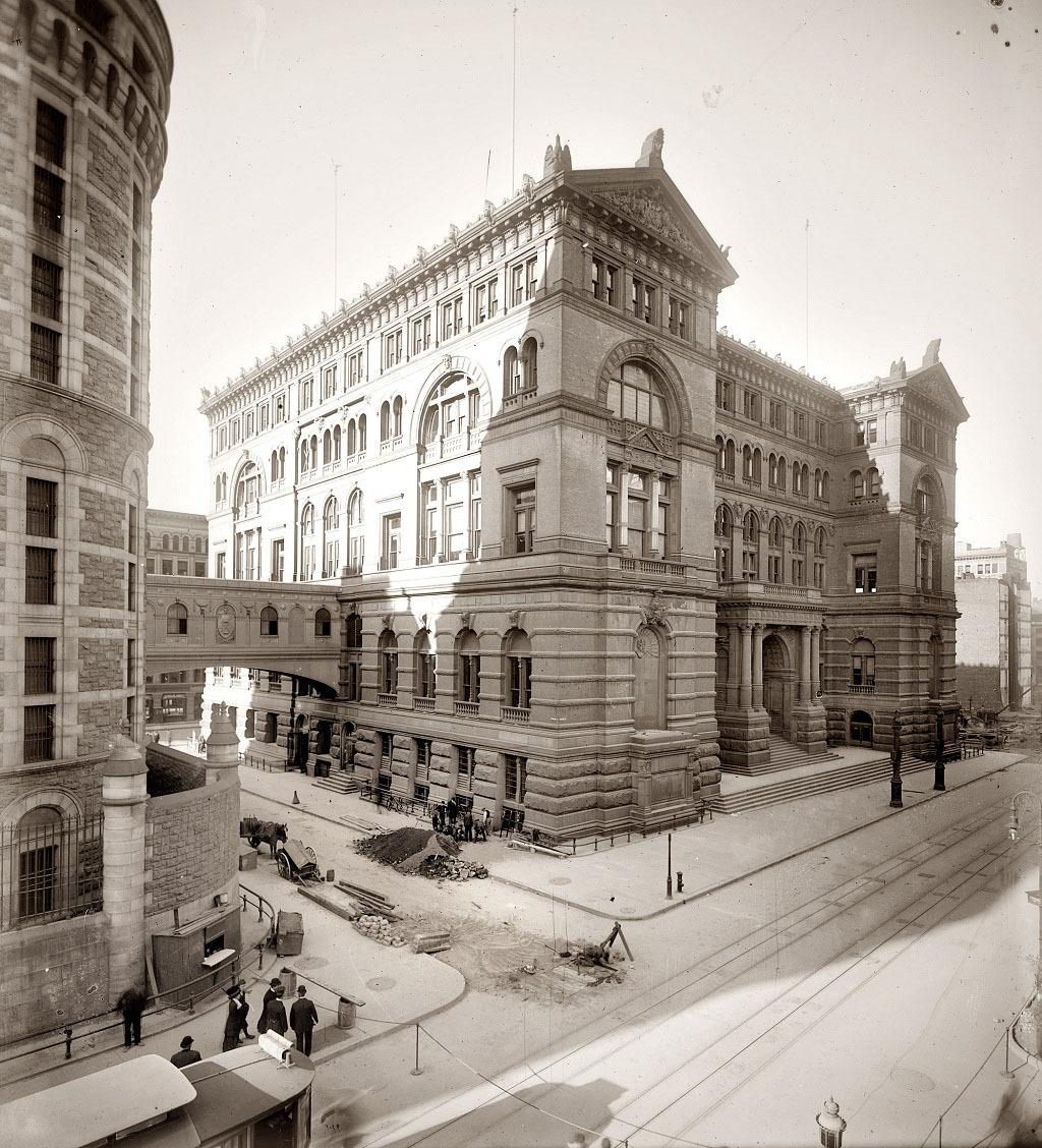 Американские мегаполисы сто лет назад