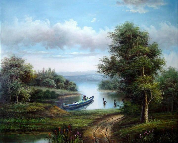 Цветные полотна. Shay Kun 17