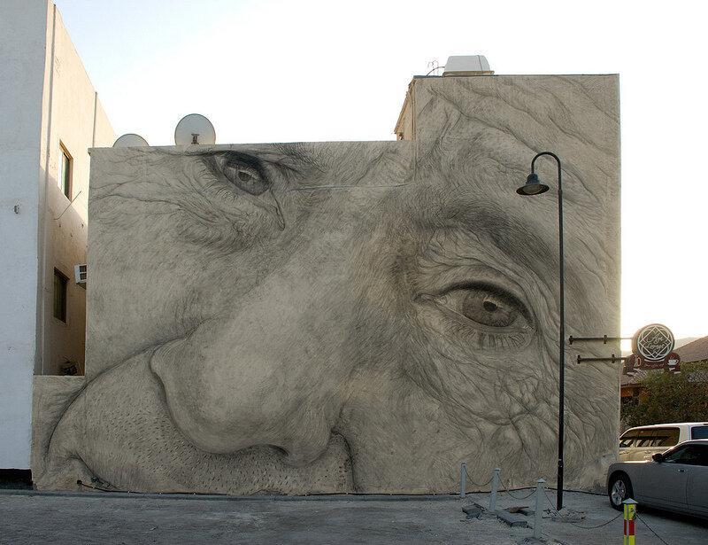Уличное искусство. Jorge Rodriguez-Gerada 21