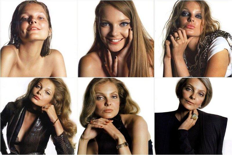 Модель в образах от 10 до 60 лет