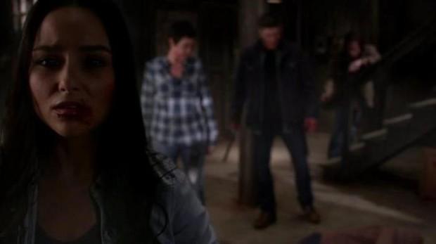 Ким Родс (шериф Миллс) в 10 сезоне сериала «Сверхъестественное»
