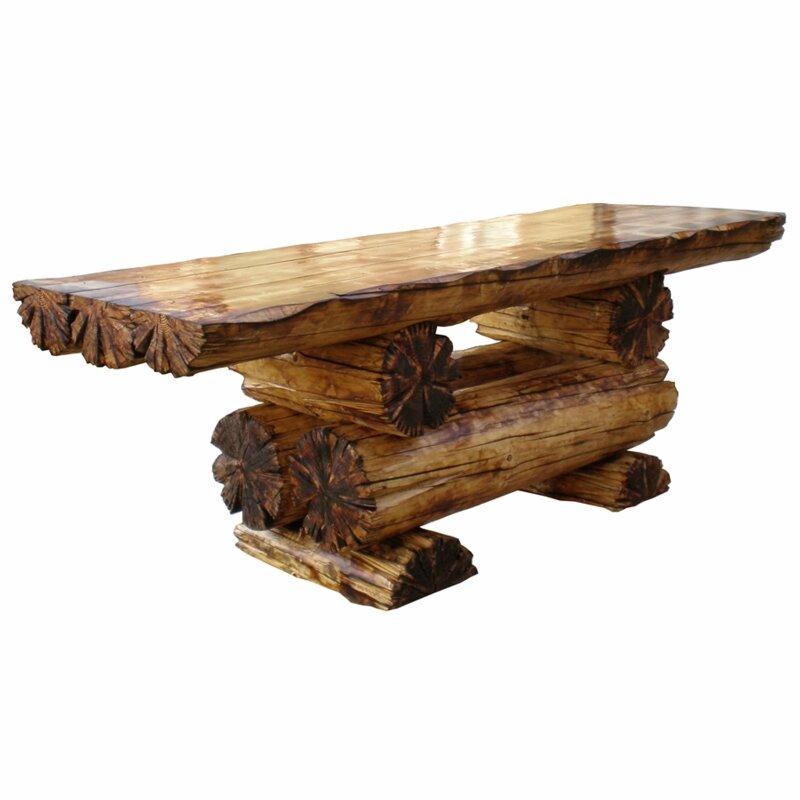 Как сделать красивый деревянный стол