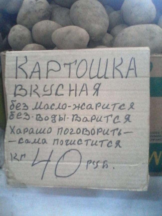Картошка универсальная, или белорусские нанотехнологии.