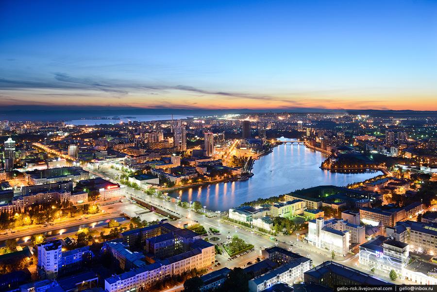 Виды Екатеринбурга с высоты (Часть 4)