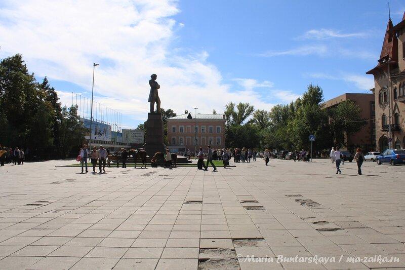 Город в день города, Саратов, 08 сентября 2012 года