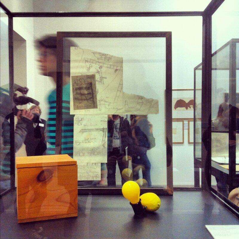 Выставка Й. Бойса в ММСИ