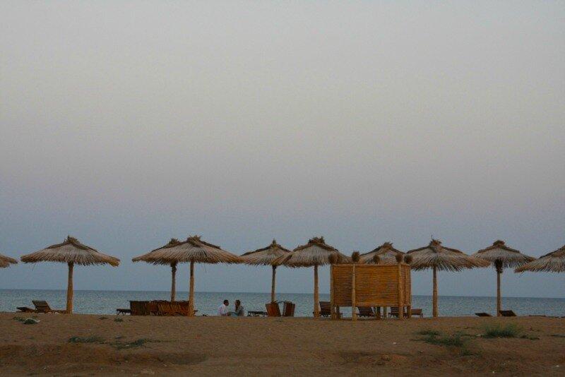 Пляж в Береговом