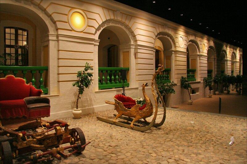 Зимний дворец Петра I, Парадный двор и галерея