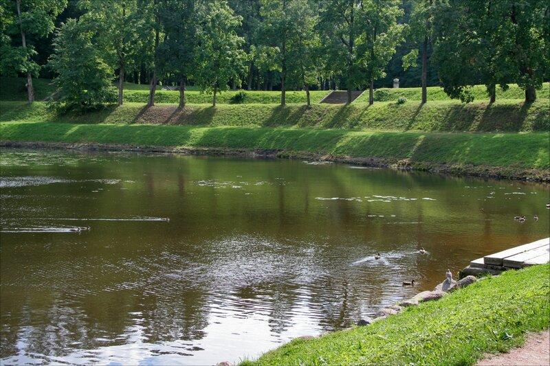 Гатчинский парк, Карпин пруд