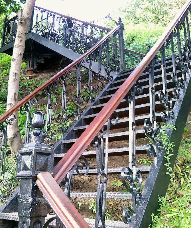 Лестница на Андреевском спуске