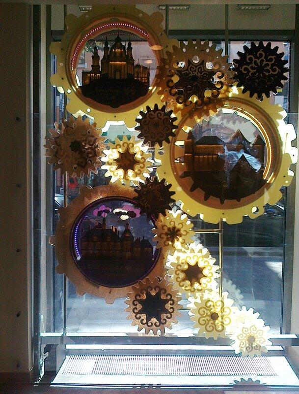 Механические витрины Roshen