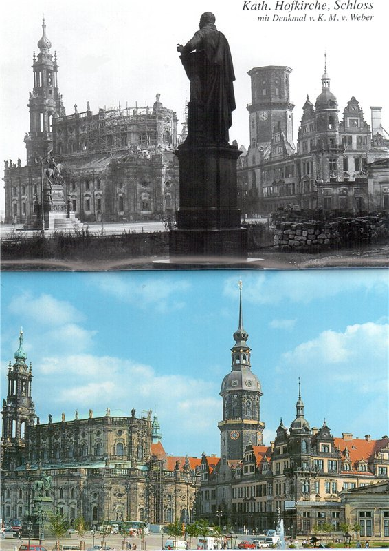Придворная церковь и Замок