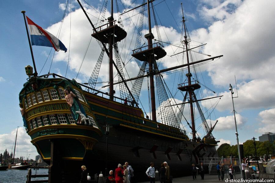 амстердам морской музей