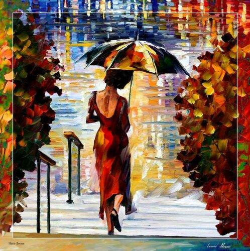 картинки нарисованные осень