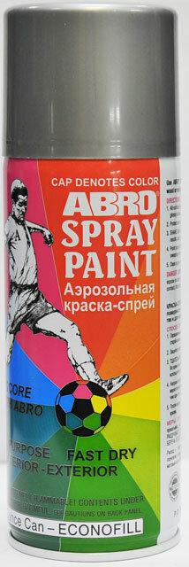 Краска спрей аллюминий стандартная РТ-026 Abro