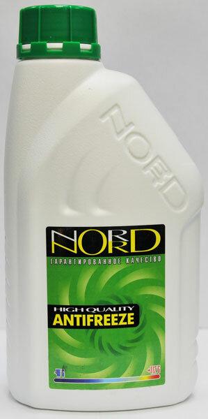 Антифриз NORD зелёный (1л)