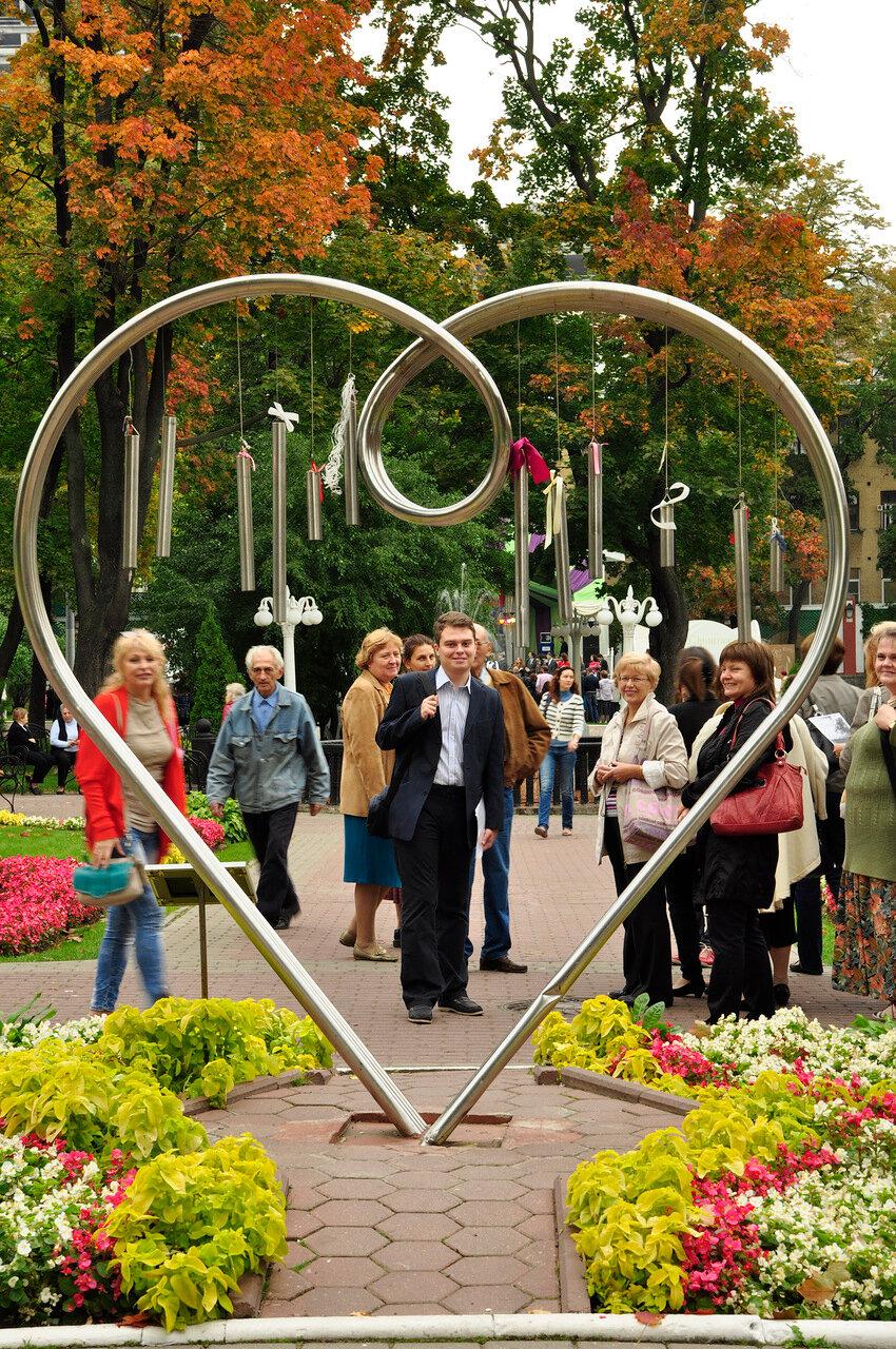 Сад эрмитаж сердце любви фото
