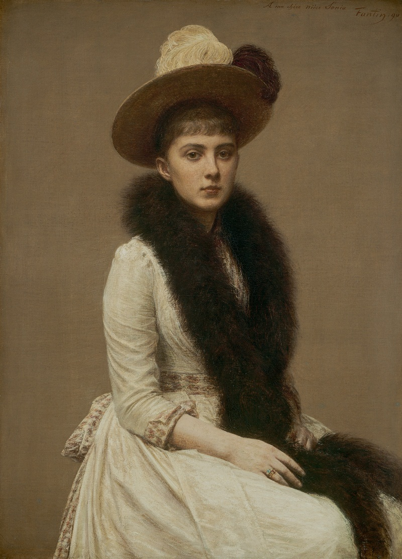 Portrait of Sonia, 1890