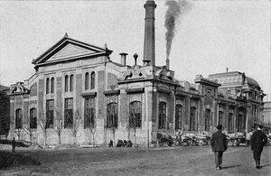Электрическая станция фабрики Н.Н.Коншина