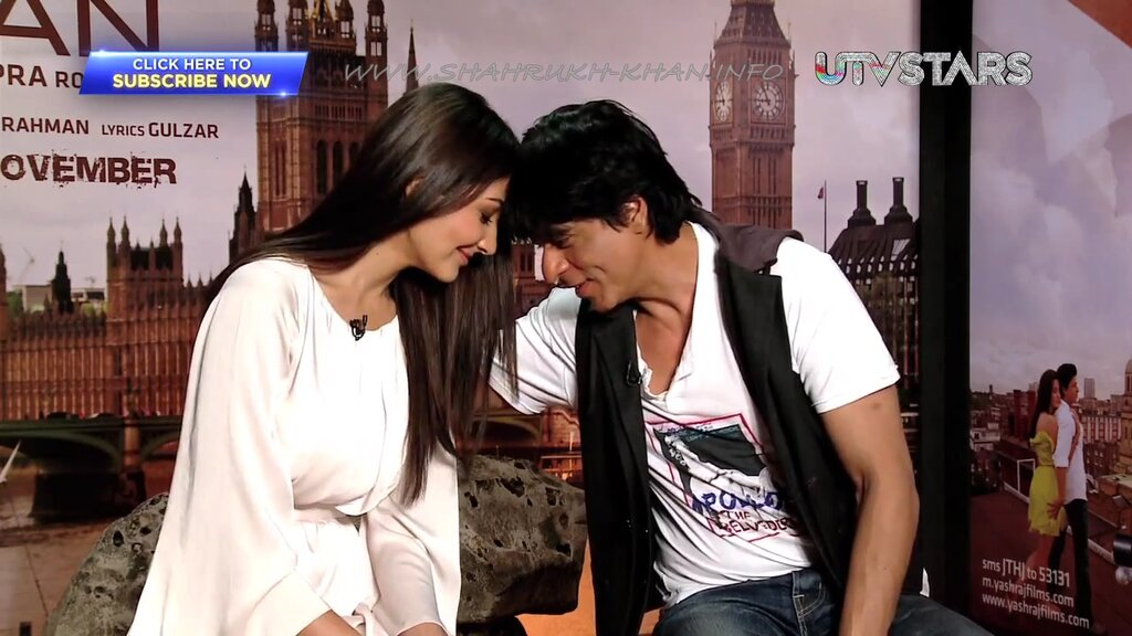 SRK & Anushka Sharma - interview JTHJ - november 2012