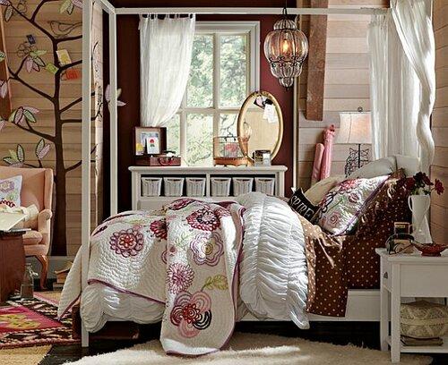 спальня девочки подростка