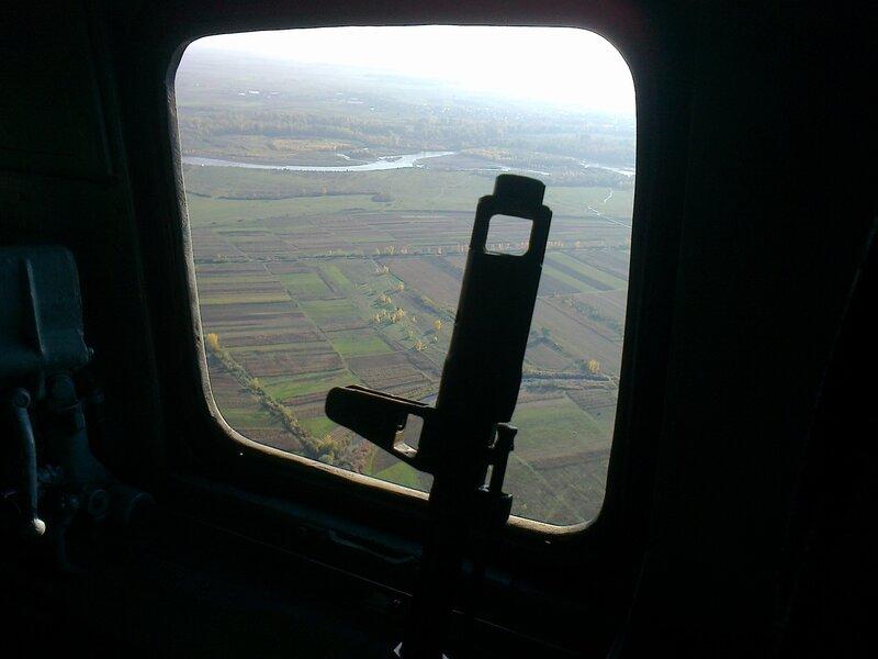 Закарпатье с высоты птичьего полёта