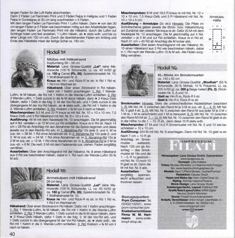 Filati Accessoires №10 2012