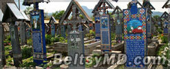 Кладбище Румынии одно из самых красивых мест в мире