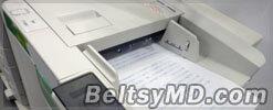 Принтер, который не только печатает, но и стирает текст