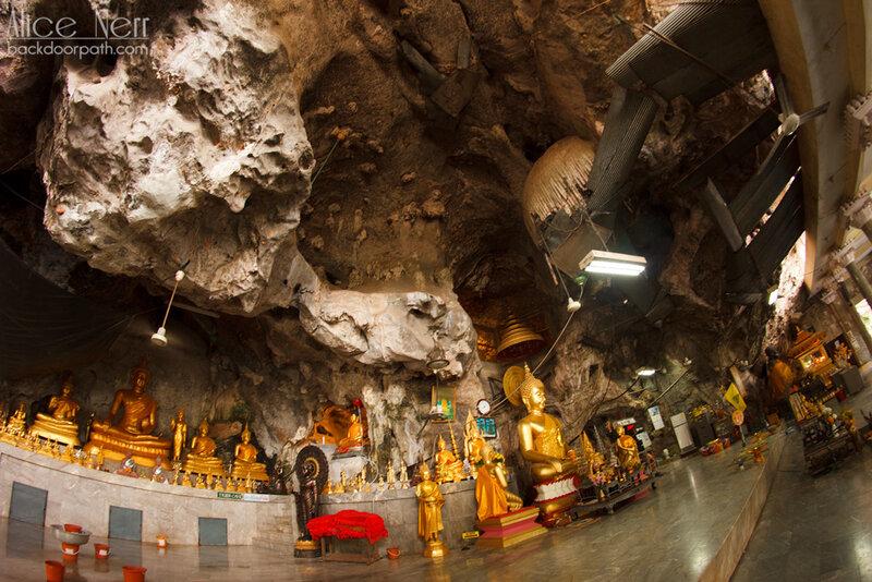 храм в скале tiger temple