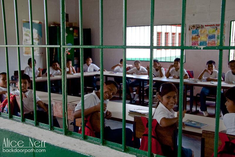 Школа в Канайме
