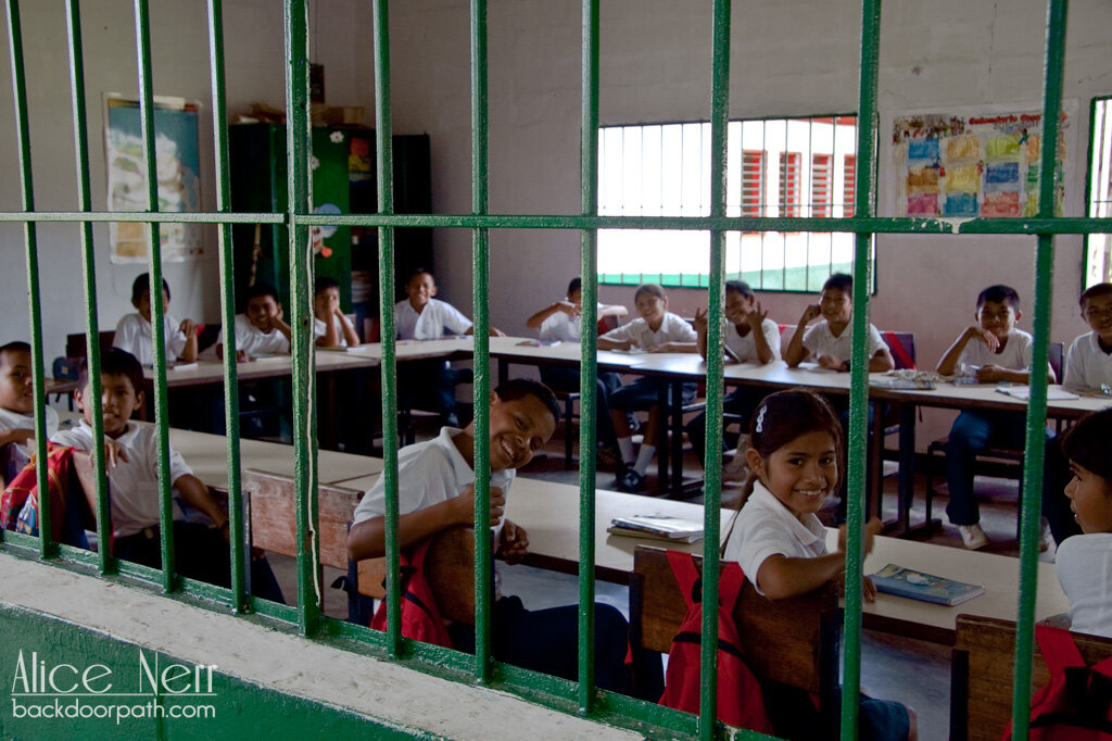 school in Canaima
