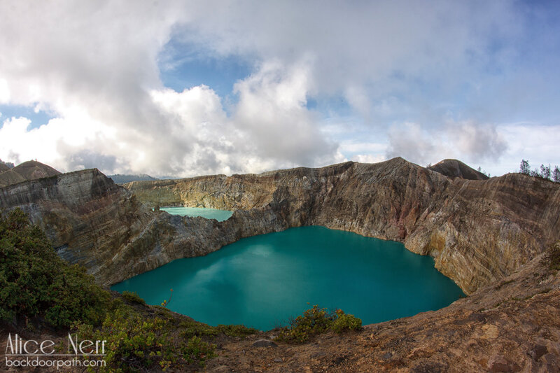 озера Келимуту, остров Флорес, Индонезия