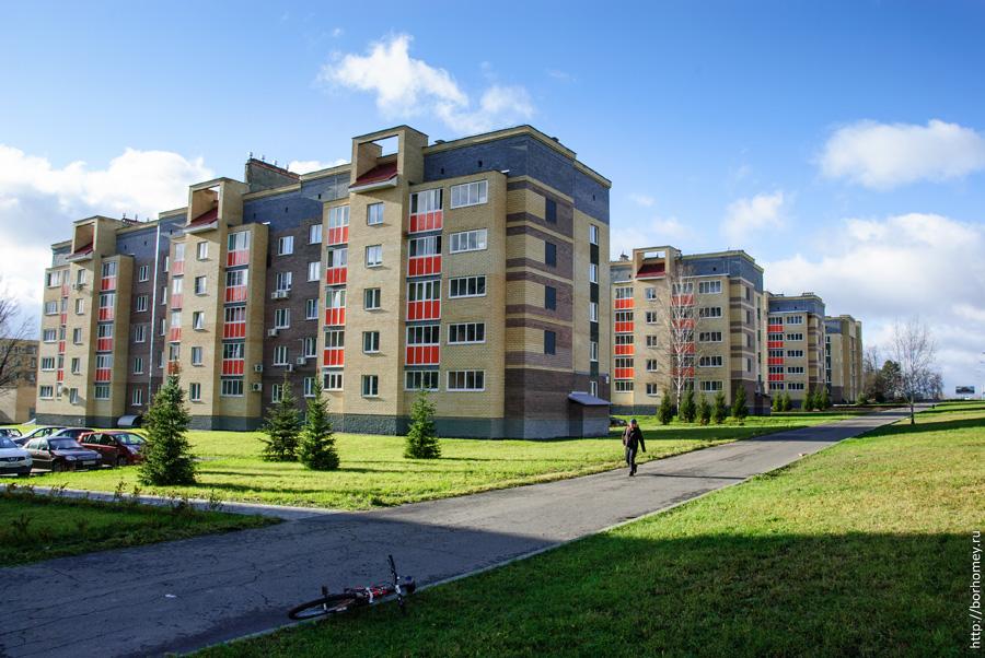 новые дома на улице Зернова