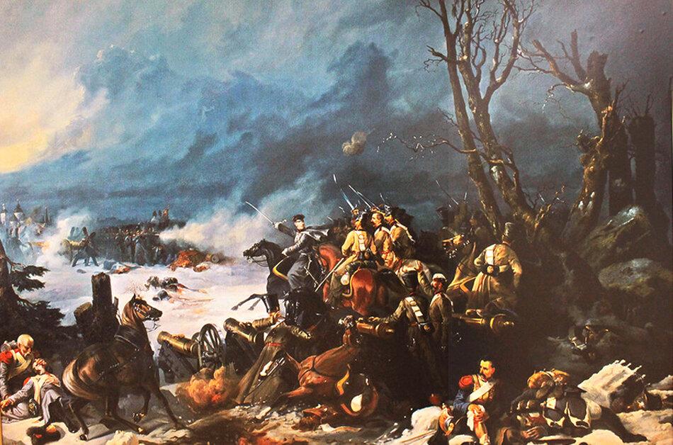 Картинки по запросу «Трехдневный поиск голодных, полунагих французов»: бой под Красным. Картинки