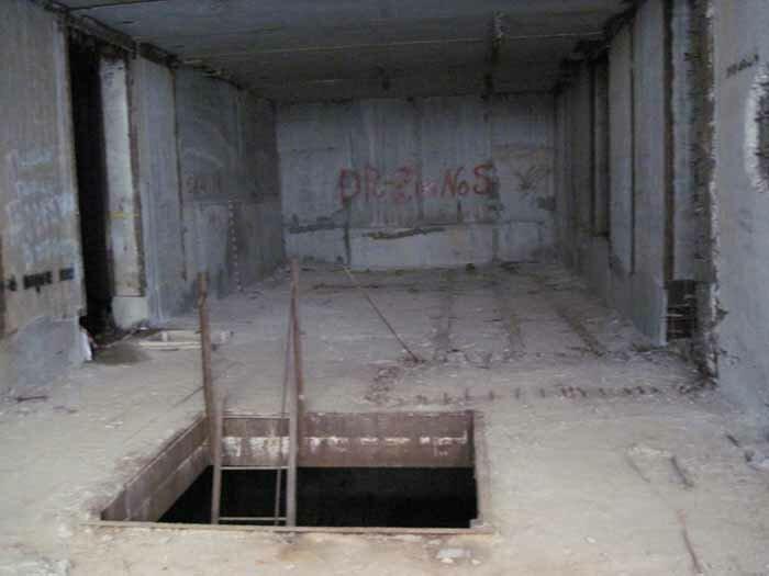 Вороново заброшенный бункер