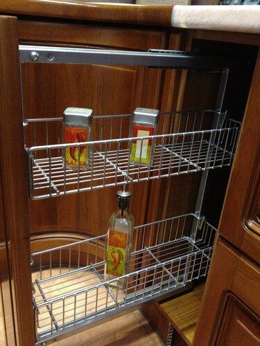 Выкатная тележка, кухонный гарнитур