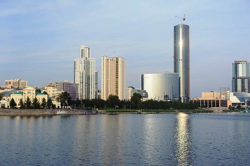 Екатеринбург. Вид на