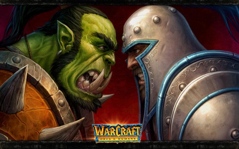 Варкарфт орки против людей обои Warcraft orcs vs humans wallpaper 1994 2012
