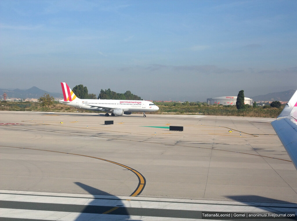Перелет с Барселоны в Вильнюс