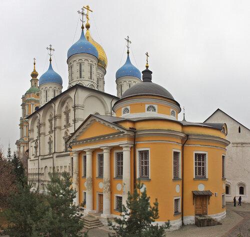 Архитектура Ново-Спасского монастыря
