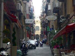 Неаполь. Испанские кварталы.