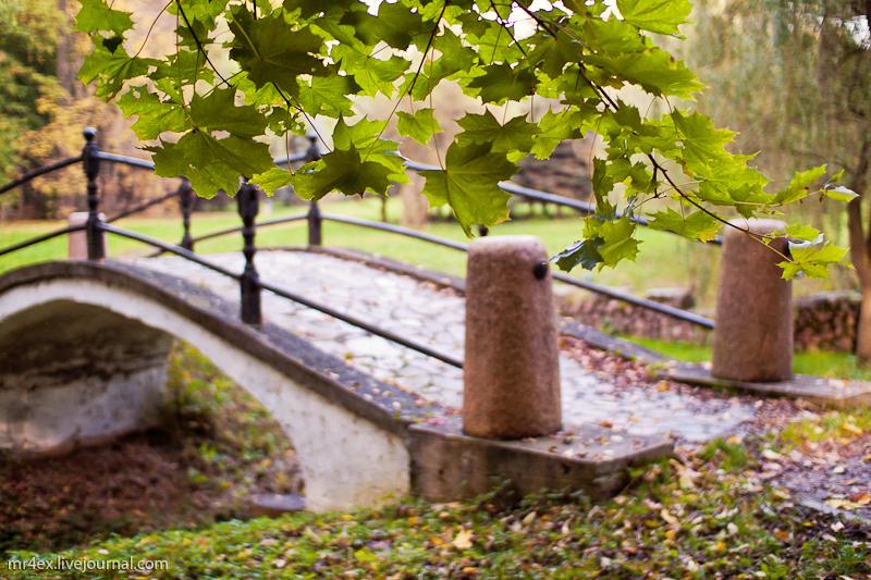 Старый парк в Несвиже