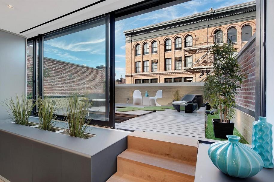 Двухэтажный пентхаус в центре Нью-Йорка, США