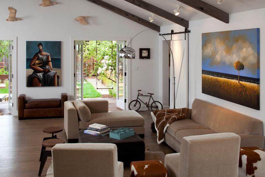 Уютная резиденция в небольшом городке Калифорнии